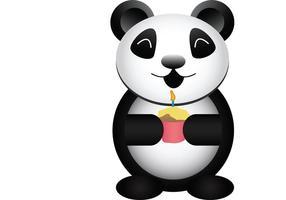 GRATIS Partido Panda Vector