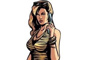 GTA Liberty City Artwork Vector