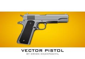 Vector Pistol Icon