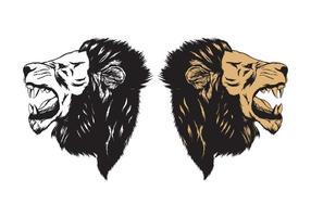Leeuw brul