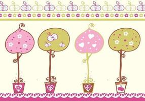 Decorative Trees Vector Pack