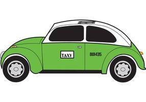 Taxi (Mexico City Cab) Vector