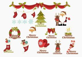 Merry-christmas-icons-vector-pack