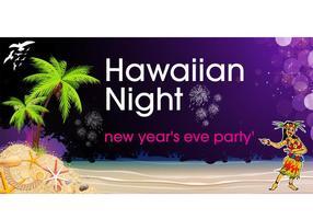 Hawaiian-night-party-background