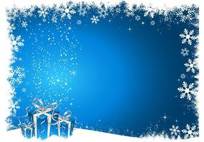 Blue-christmas-background-vector