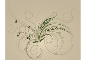 Swirls-brushes-vector