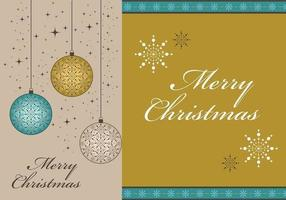 Merry Christmas Vector Wallpaper en Border Pack