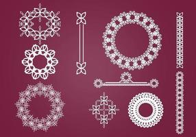Wreaths, Borders, and Ornaments Vector Pack