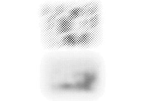 Free Halftone Vector Design Elements