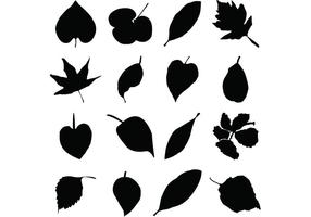 Leaf-silhouettes-free-vector-graphics