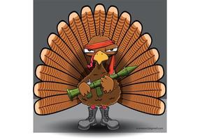 Rambo Turkey Vector