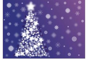 Sparkle Kerstboom Vector