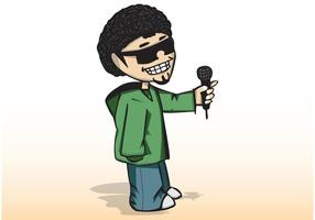 The-hip-hop-man-vector