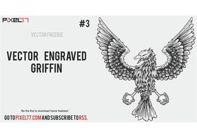 Weekly Freebie #3: Vector Engraved Griffin