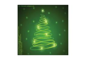 Abstract Christmas Tree Background 2