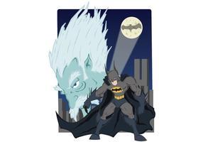 Batman affisch vektor