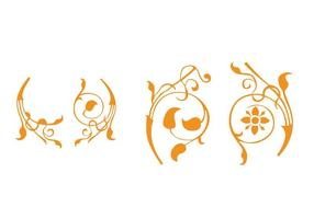 Floral Elements Vectors