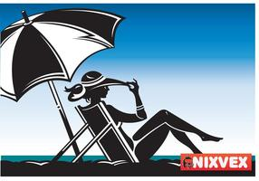 NixVex Beached Free Vector
