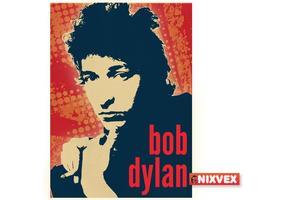NixVex Bob Dylan Free Vector
