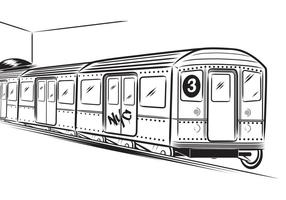 U-Bahn-Vektor