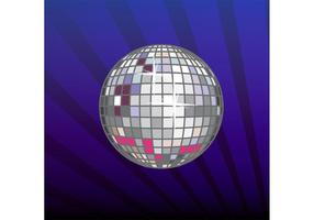 Party Vector Disco Mirror Ball