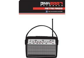 Retro Vector Radio