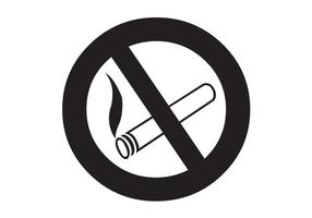 Symbol Vector - No Smoking Vector