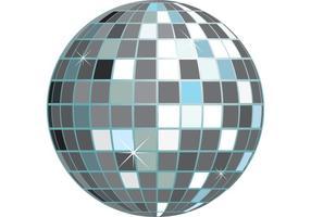 Party Vector Disco Ball