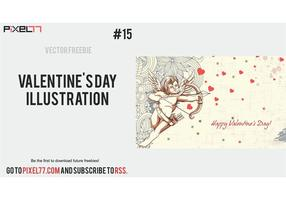 Free Valentine's Day Vector Illustration