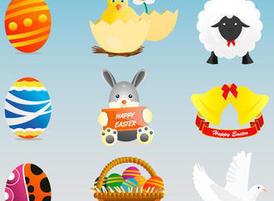 Easter-icon-set