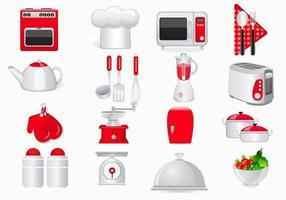 Kochen Icon Vector Pack