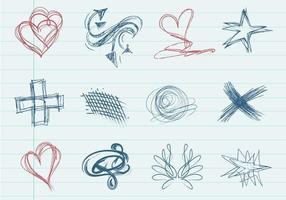 Doodle Shape Vector Pack