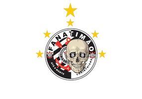 Vecteur de crâne - Corinthians Paulista 5