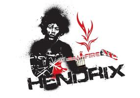 Jimmy Hendrix Vector Feuer