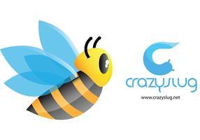 Niedliche Biene