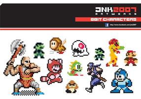 Pack de 8 bits de caracteres