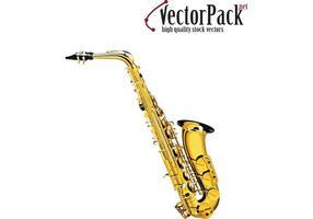 Vecteur saxophone