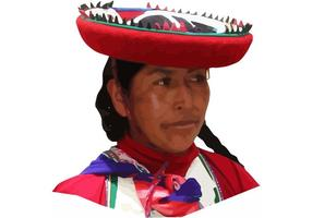 1 Mujer de Perú Vector
