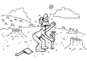 Cartoon Vector libre de agua