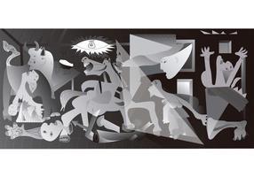 Pablo Picasso (Obra - La Guernica - Cubismo)