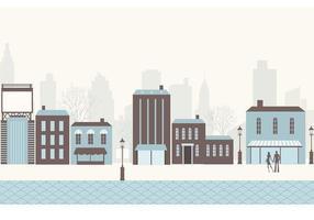 Paquete de vectores de la ciudad