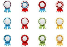 Award-ribbon-vector-pack
