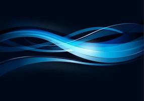 Wavy Blue Lines Background
