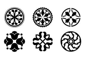 Circular Design Ornaments