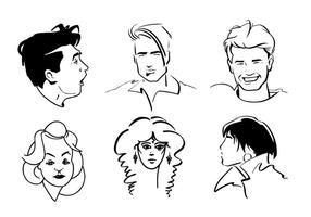 Line Art Faces