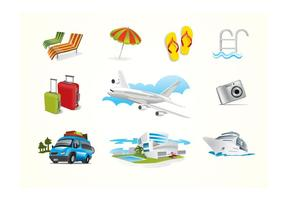 Vector-holiday-travel-elements