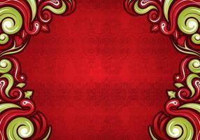 Swirls-on-red-background