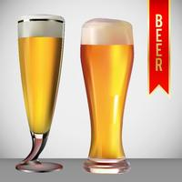 Beer Glass Vector Pack