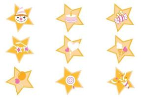 Event-star-vector-pack