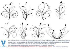 Design floral vectoriel